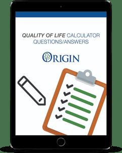 Quality of Life Calculator_Origin Active Lifestyle